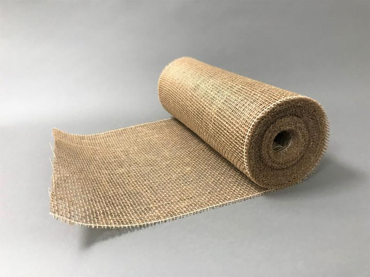 Chemin de table en jute naturelle 30cmx10m